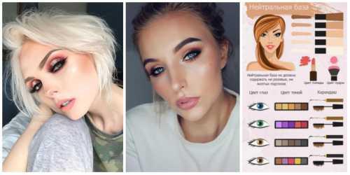 макияж с красной помадой, вариации для блондинок, брюнеток и рыжих